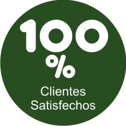 100% Clientes Satisfechos